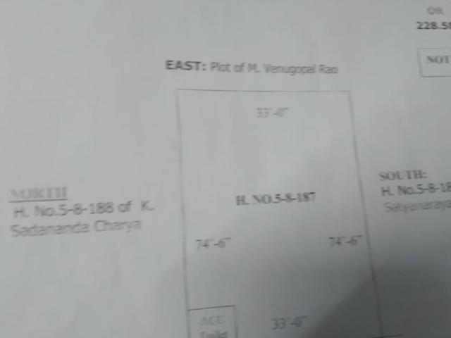 2bhk flat sale at old bowenpally || Hyderabad - 1